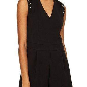 Zara Dresses - Zara Black Jumpsuit with stud detail Size L